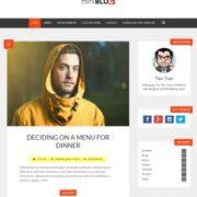 miniBlog SEO Blogger Templates