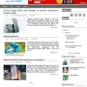 pronewsMag Blogger Templates