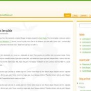 sampling blogger template