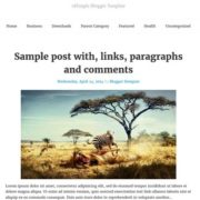tdSimple Responsive Blogger Templates